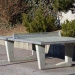 Alte Tischtennisplatte entsorgen