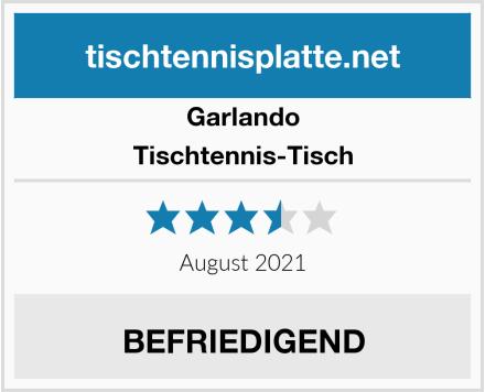 Garlando Tischtennis-Tisch Test