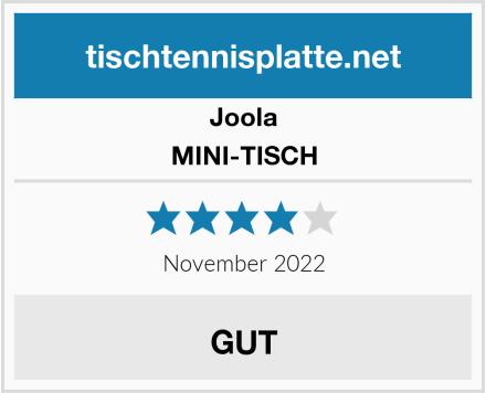 Joola MINI-TISCH Test