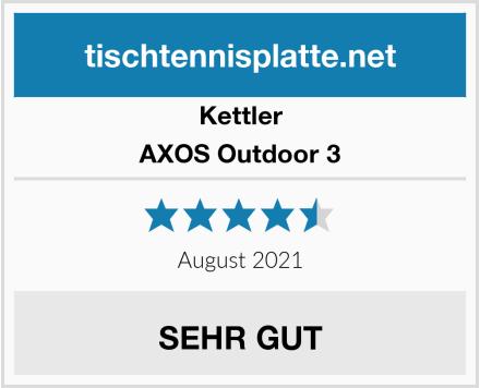 Kettler AXOS Outdoor 3 Test