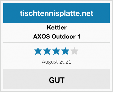 Kettler AXOS Outdoor 1 Test