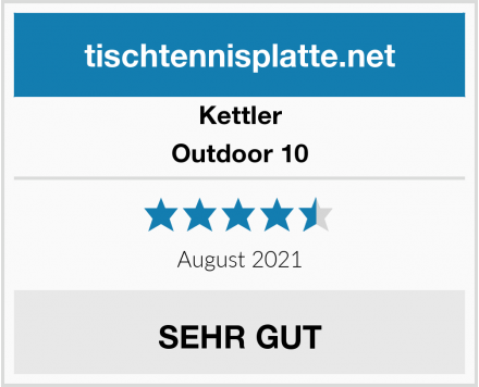 Kettler Outdoor 10 Test