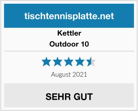 Kettler Outdoor 10 Test