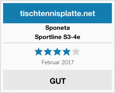 Sponeta Sportline S3-4e Test