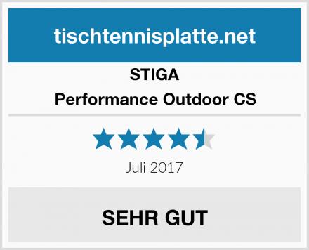 STIGA Performance Outdoor CS Test