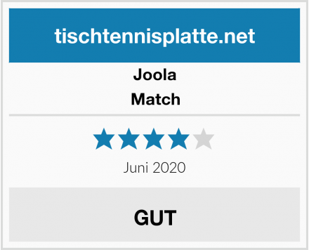 Joola Match Test