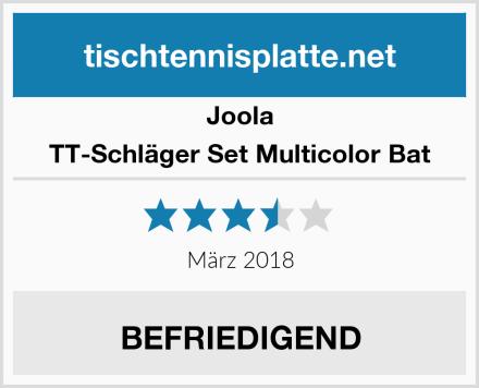Joola TT-Schläger Set Multicolor Bat Test