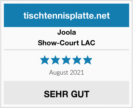 Joola Show-Court LAC Test