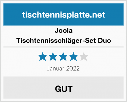 Joola Tischtennisschläger-Set Duo Test