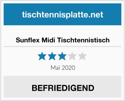 Sunflex Midi Tischtennistisch Test