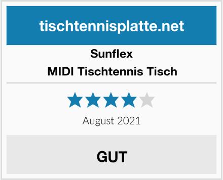 Sunflex MIDI Tischtennis Tisch Test