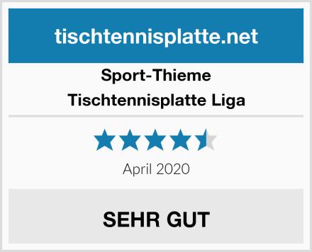 Sport-Thieme Tischtennisplatte Liga Test