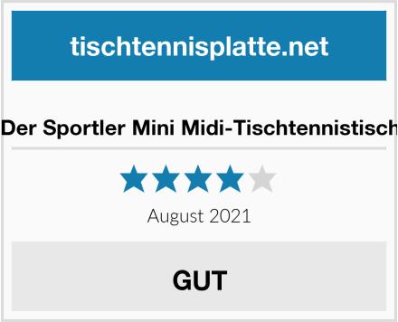 Der Sportler Mini Midi-Tischtennistisch Test