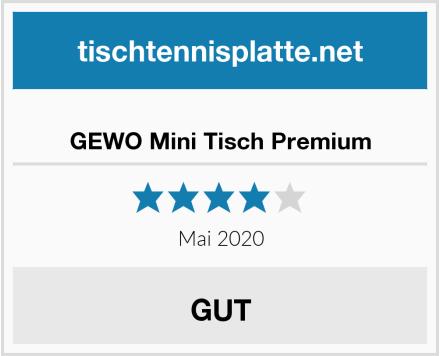 GEWO Mini Tisch Premium Test