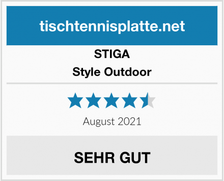 STIGA Style Outdoor Test
