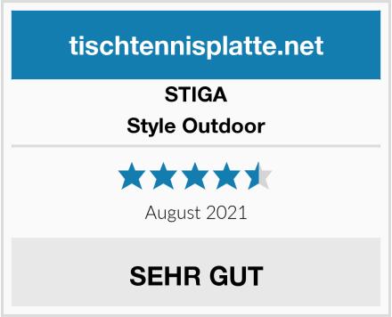 STIGA Style Outdoor Test