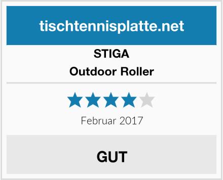 STIGA Outdoor Roller Test