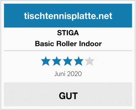 STIGA Basic Roller Indoor Test