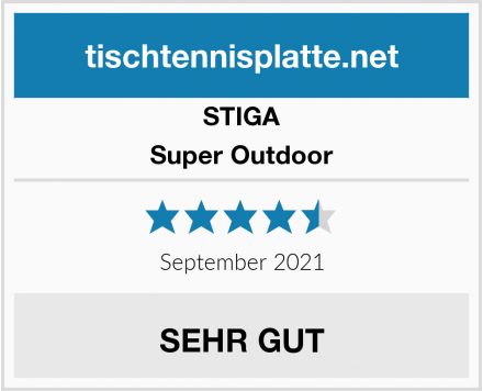 STIGA Super Outdoor Test