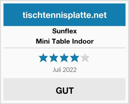 Sunflex Mini Table Indoor Test