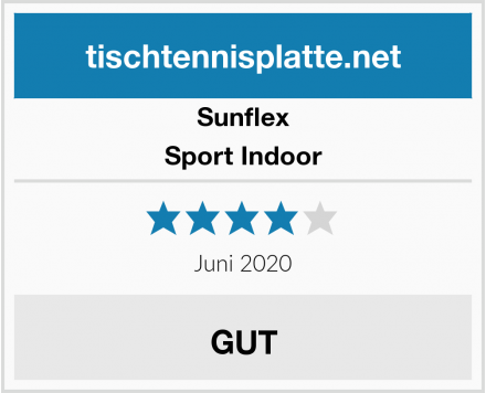 Sunflex Sport Indoor Test