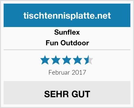 Sunflex Fun Outdoor Test