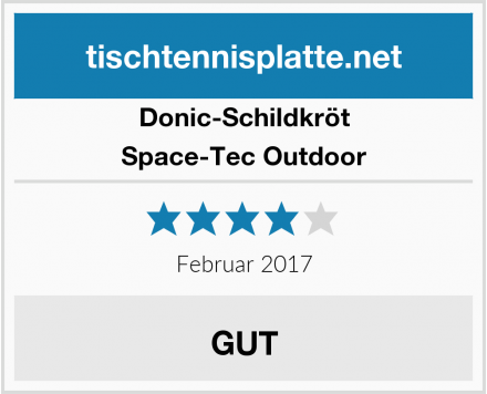 Donic-Schildkröt Space-Tec Outdoor Test