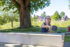 Lärmbelästigung durch Tischtennisplatte im Garten
