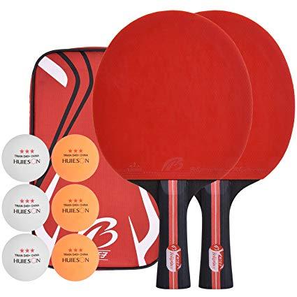 No Name Lynlon Tischtennisschläger mit 6 Bälle