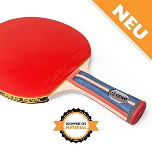 GEWO Tischtennisschläger Standard Pro konkav