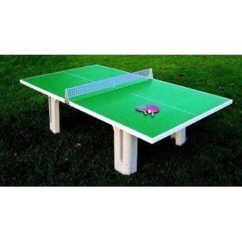 Der Sportler Beton-Tischtennistisch