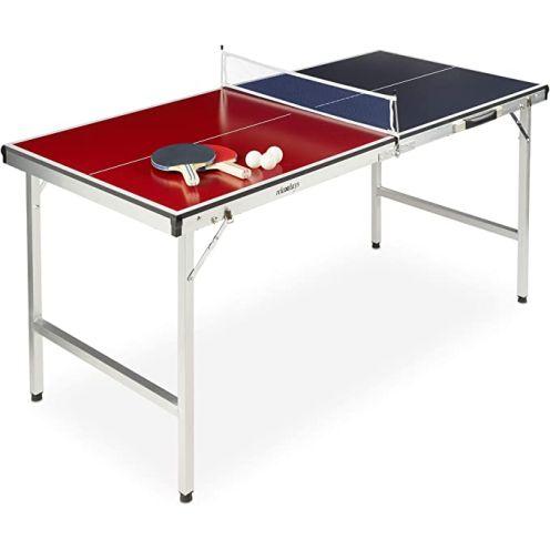 Relaxdays Klappbare Tischtennisplatte